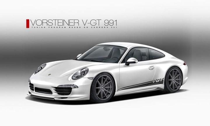 Vorsteiner V-GT body-kit voor de Porsche 911 (991) Carrera