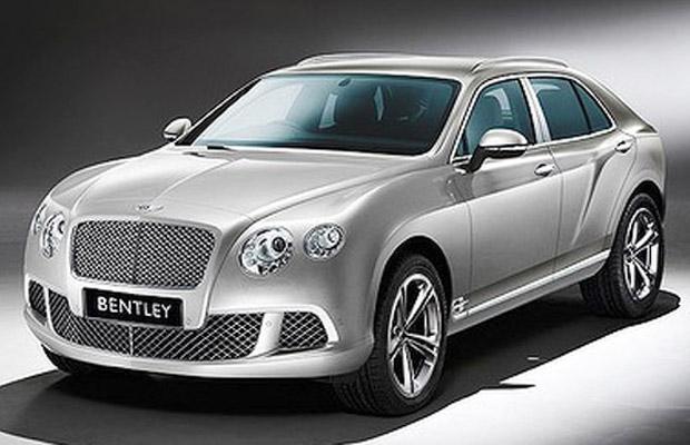 Een artist impression van de Bentley SUV Concept.