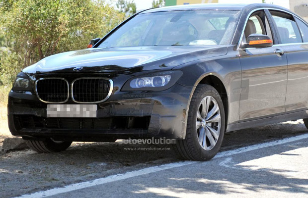 BMW 7-serie Facelift