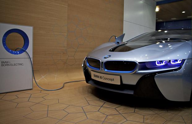 BMW i8 Concept Autosalon Geneve 2012