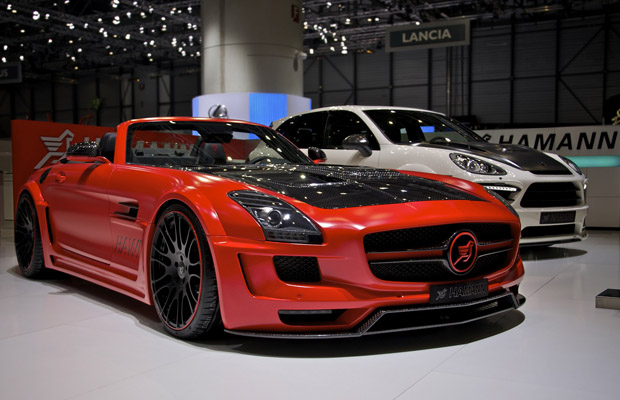 Hamann Mercedes-Benz SLS Roadster Hawk