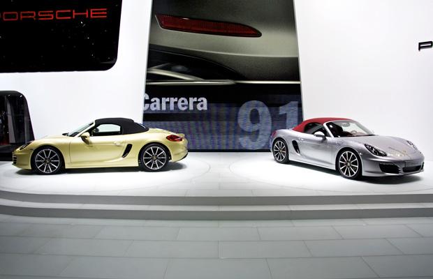 Porsche Boxster Autosalon Geneve 2012