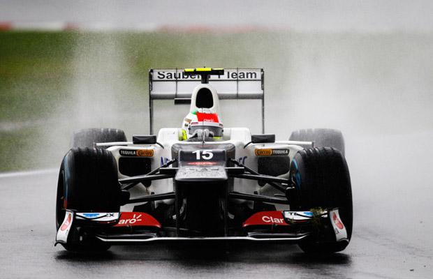 Sergio Perez GP Maleisie 2012