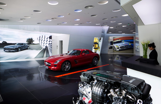AMG dealership Beijing