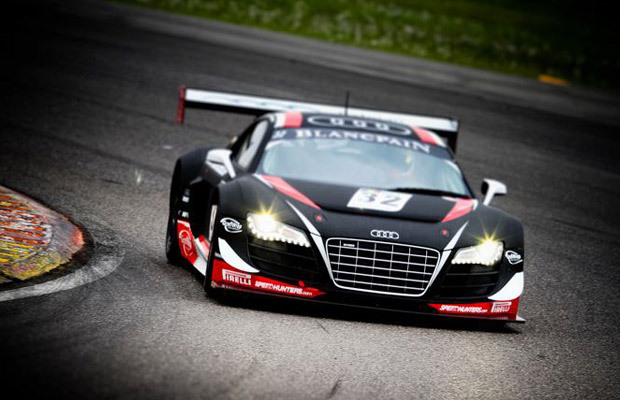 Audi WRT R8 FIA GT1 2012 Nogaro