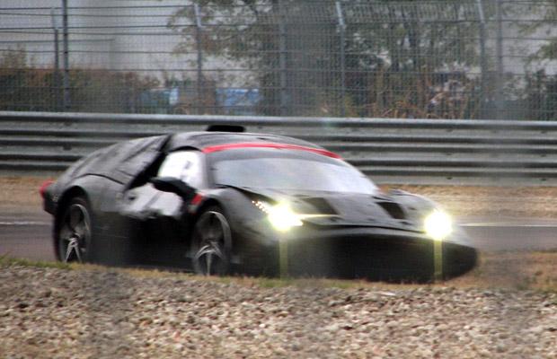 Ferrari F70 spyshot