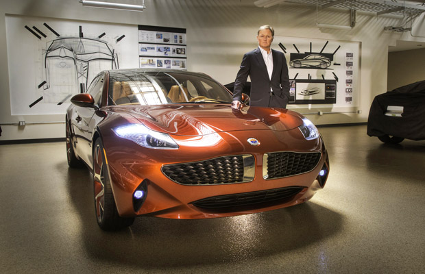 Fisker Atlantic reveal event press