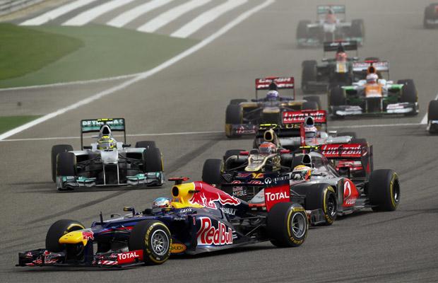 GP Bahrein 2012 Sebastian Vettel Red Bull Racing