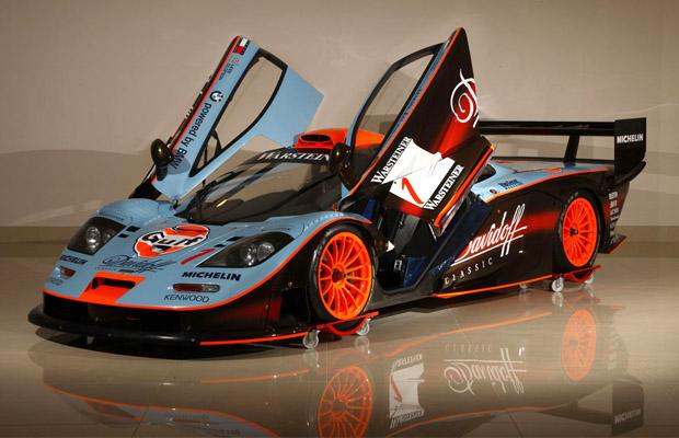 McLaren F1 GTR 1997 GTC Gulf Team Racing Davidoff