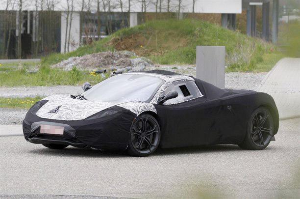 McLaren P12 Mule