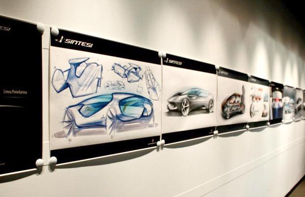 Pininfarina Sintesi concept (facility visit 2009)