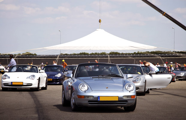 Porsche evenement PON illustratie