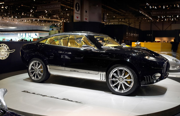 Spyker D12 Peking to Paris concept