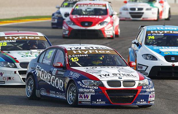Tom Coronel WTCC Valencia 2012