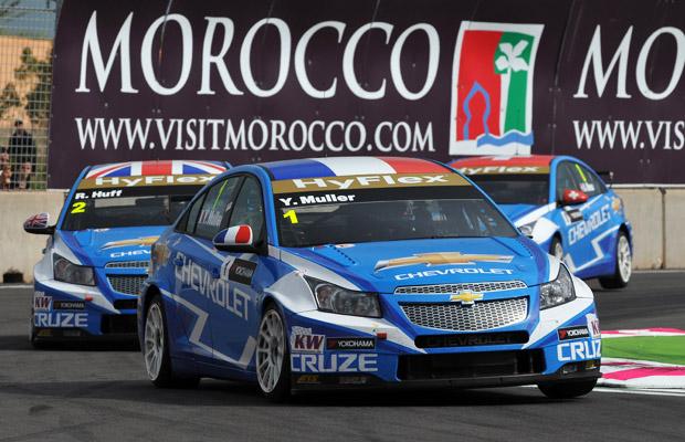 WTCC 2012 Marocco Chevrolet Cruze Muller Mennu Huff