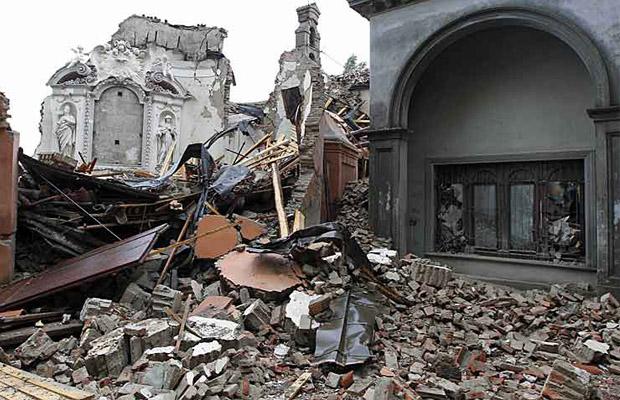 Aardbeving Italie