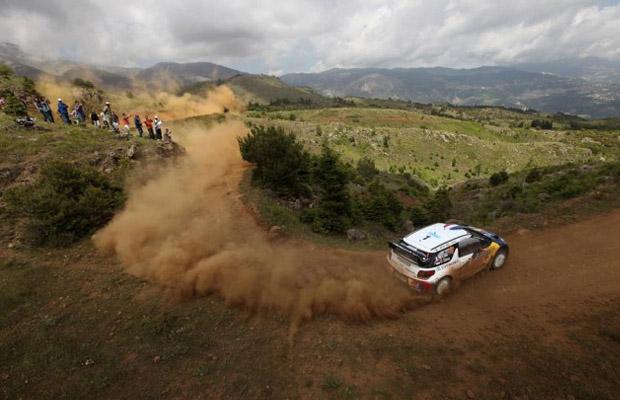 Acropolis Rally Greece 2012 Sebastien Loeb Citroen WRC