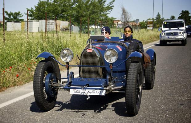 Bugatti Type 35 nr29 Mille Miglia 2012