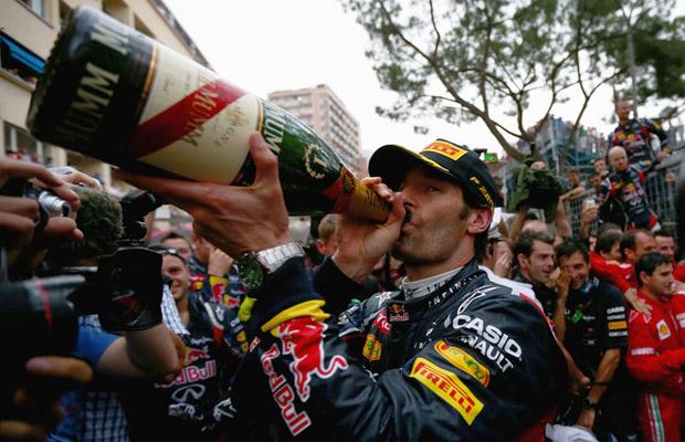 Mark Webber Red Bull Racing Monaco 2012