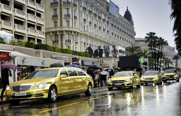 Mercedes-Benz Gold delegation at Filmfestival Cannes 2012