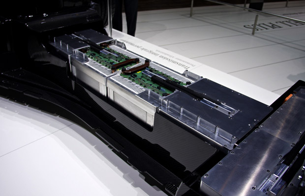 Mercedes-Benz SLS AMG E-CELL batterypack