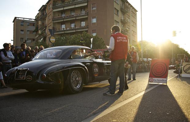 Mille Miglia 2012 start