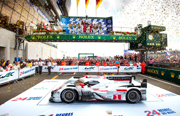 Audi R18 e-tron winner 24h Le Mans 2012