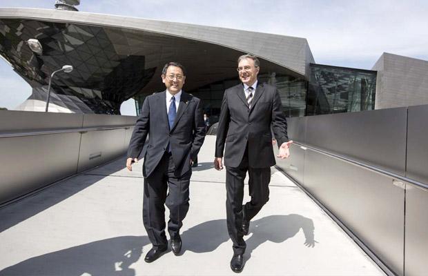 BMW Toyota Partnership 2012 - Norbert Reithofer en Akio Toyoda