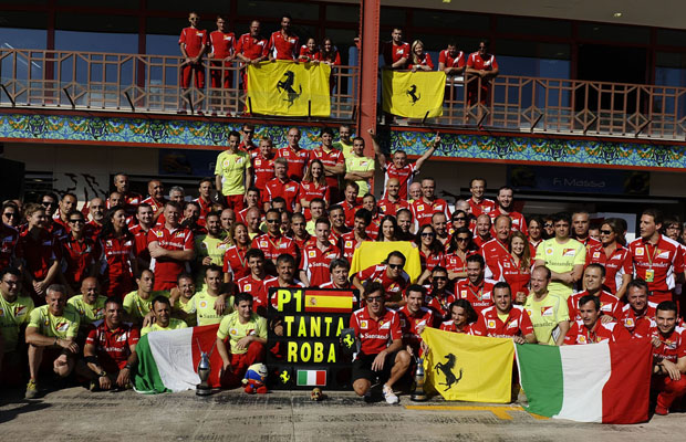Fernando Alonso Scuderia Ferrari GP Europe Valencia