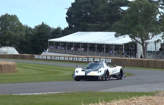 Pagani Zonda R Evo Goodwood Festival of Speed 2012
