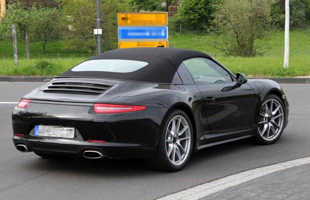 Porsche 991 911 Targa 2013 Spyshots