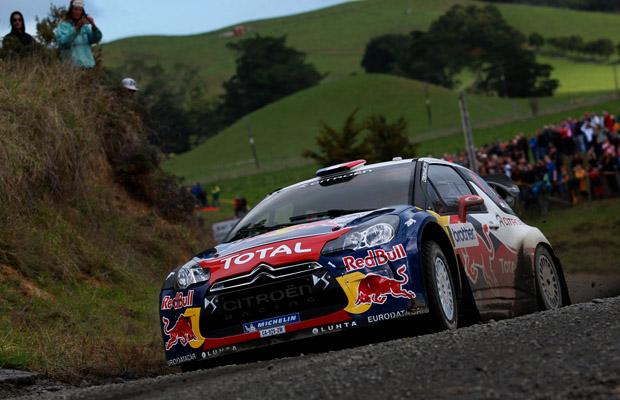 Sebastien Loeb Citroen DS3 WRC New Zealand 2012