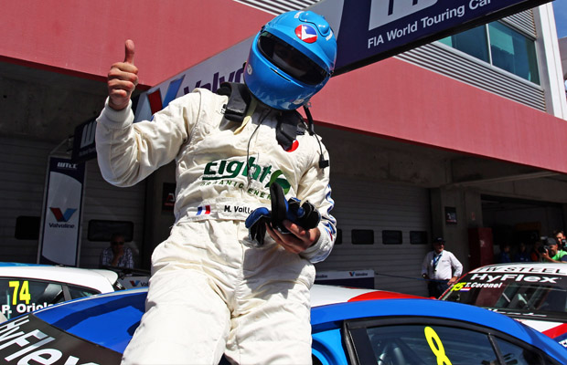 WTCC Portimao 2012 Alain Menu Chevrolet Cruze- Michael Valliant