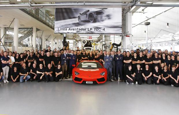1000 Lamborghini LP700-4 Avendator