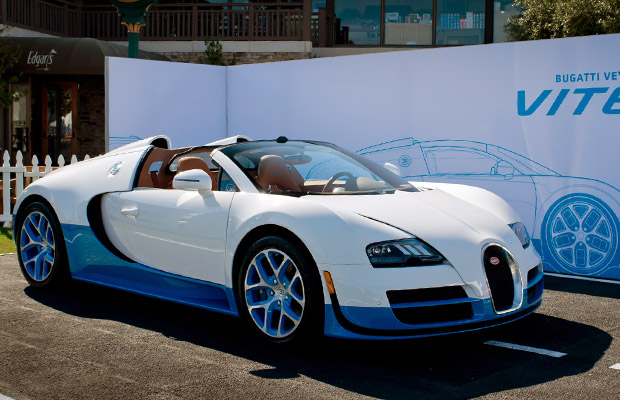 Bugatti Veyron Grand Sport Vitesse Special Edition Pebble Beach 2012