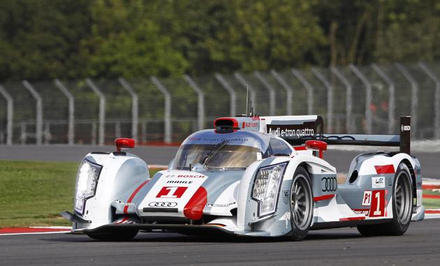 FIA WEC Audi Silverstone 6 uur 2012