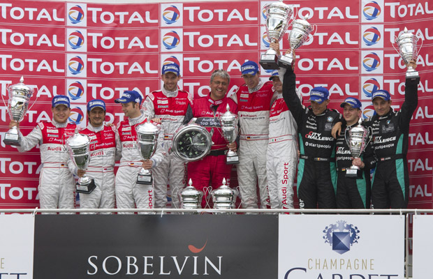 Total 24h Spa Francorchamps podium 2012