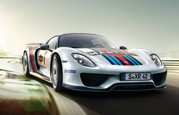 2013 Porsche 918 RSR Martini Livery