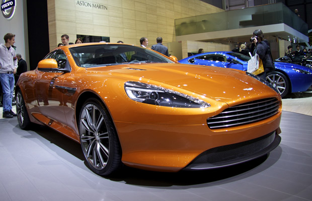 Aston Martin Virage Autosalon Geneve 2011