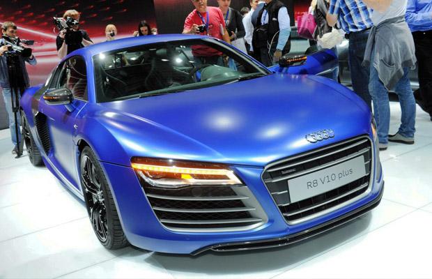 Audi R8 V10 Plus Moskou Motorshow 2012