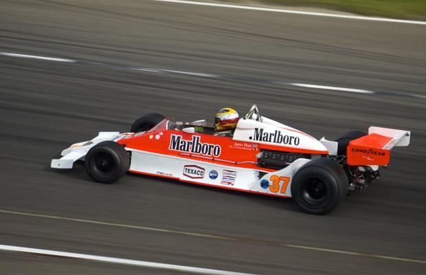 Grand Prix Masters McLaren M26 Marlboro Historic Grand Prix 2012 Circuit Park Zandvoort