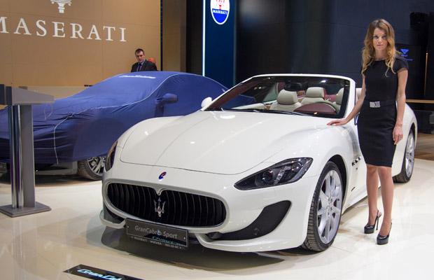 Maserati GranCabrio Sport 2013 Moskou motor show