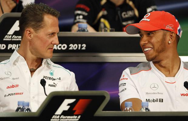 Michael Schumacher Lewis Hamilton Transfers