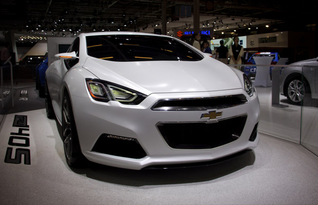 Paris Motor Show 2012 Chevrolet Tru 140S