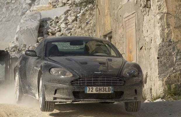 Quantum of Solace Aston Martin DBS James Bond Christies veiling 2012