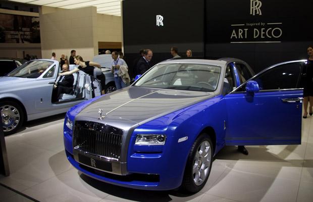 Rolls Royce Art Deco Parijs Motor Show 2012