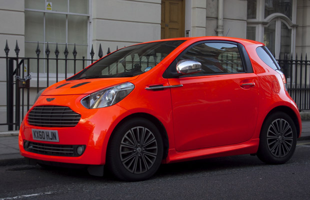 Aston Martin Cygnet London 2012