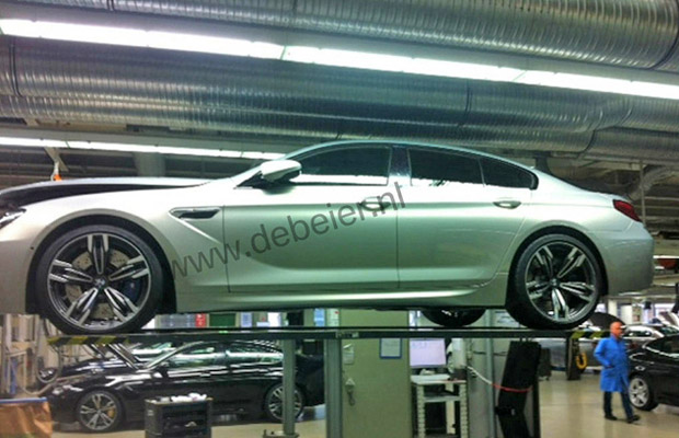BMW M6 Gran Coupe BMW Dealer De Beier Leaked