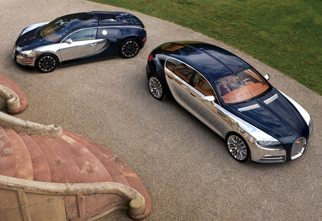 Bugatti Galibier Concept and Veyron