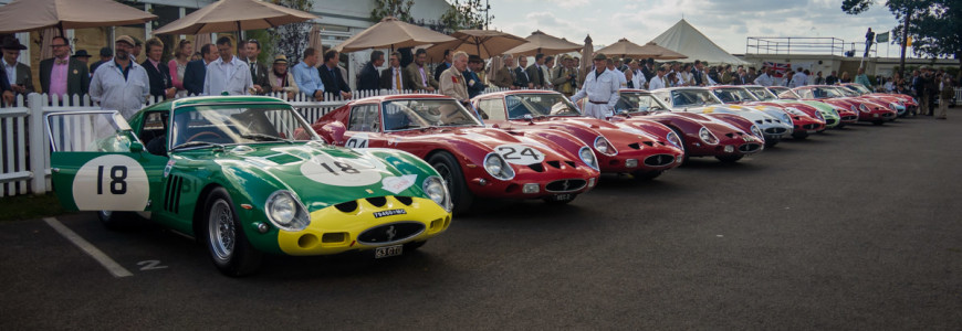 Ferrari 250 GTO Line-up Goodwood Revival 2012 2thetrack-1